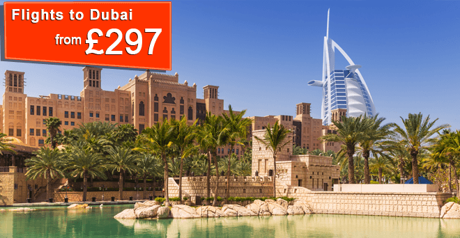 Fly to Dubai fr £297