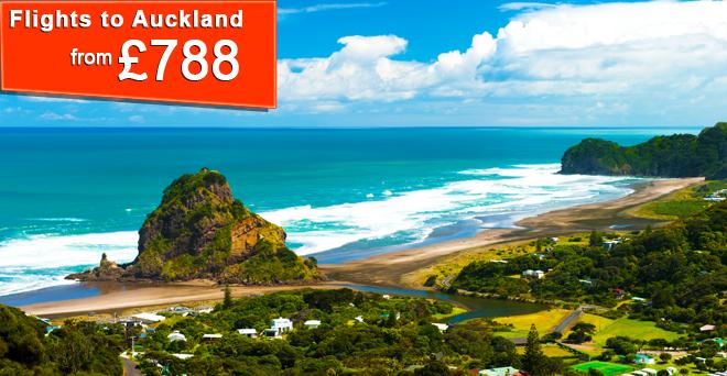 Flights to Auckland