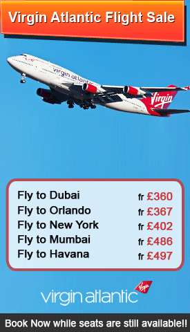 Virgin Atlantic Flight Sale