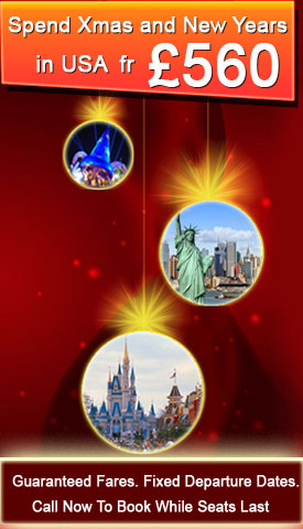 Spend Christmas & New Year in the US