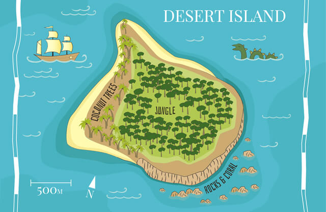 Competition-desert-island-survival-pack