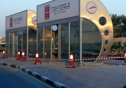 Dubai Bus Shelters