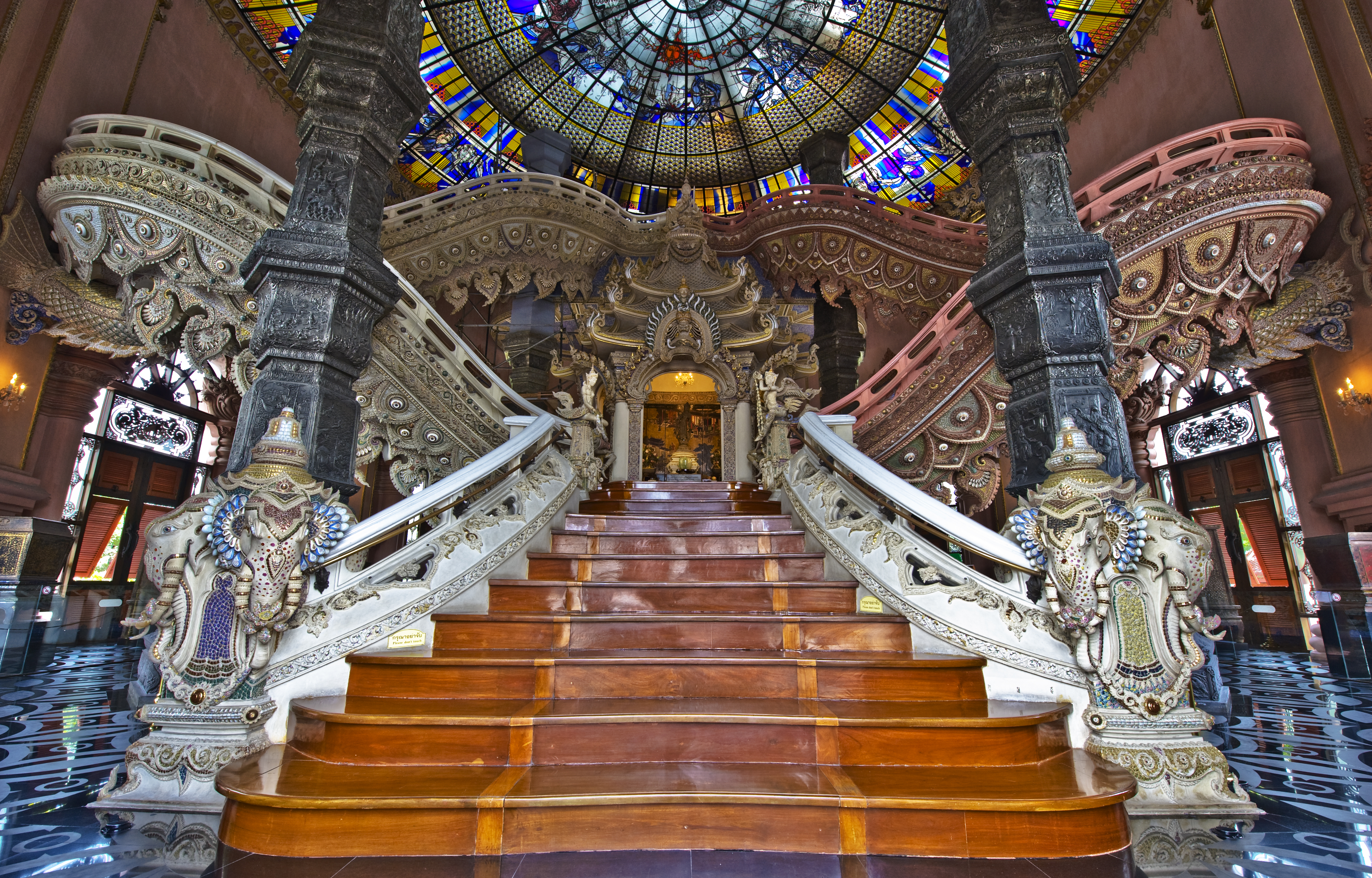 Interior of the Erawan Museum