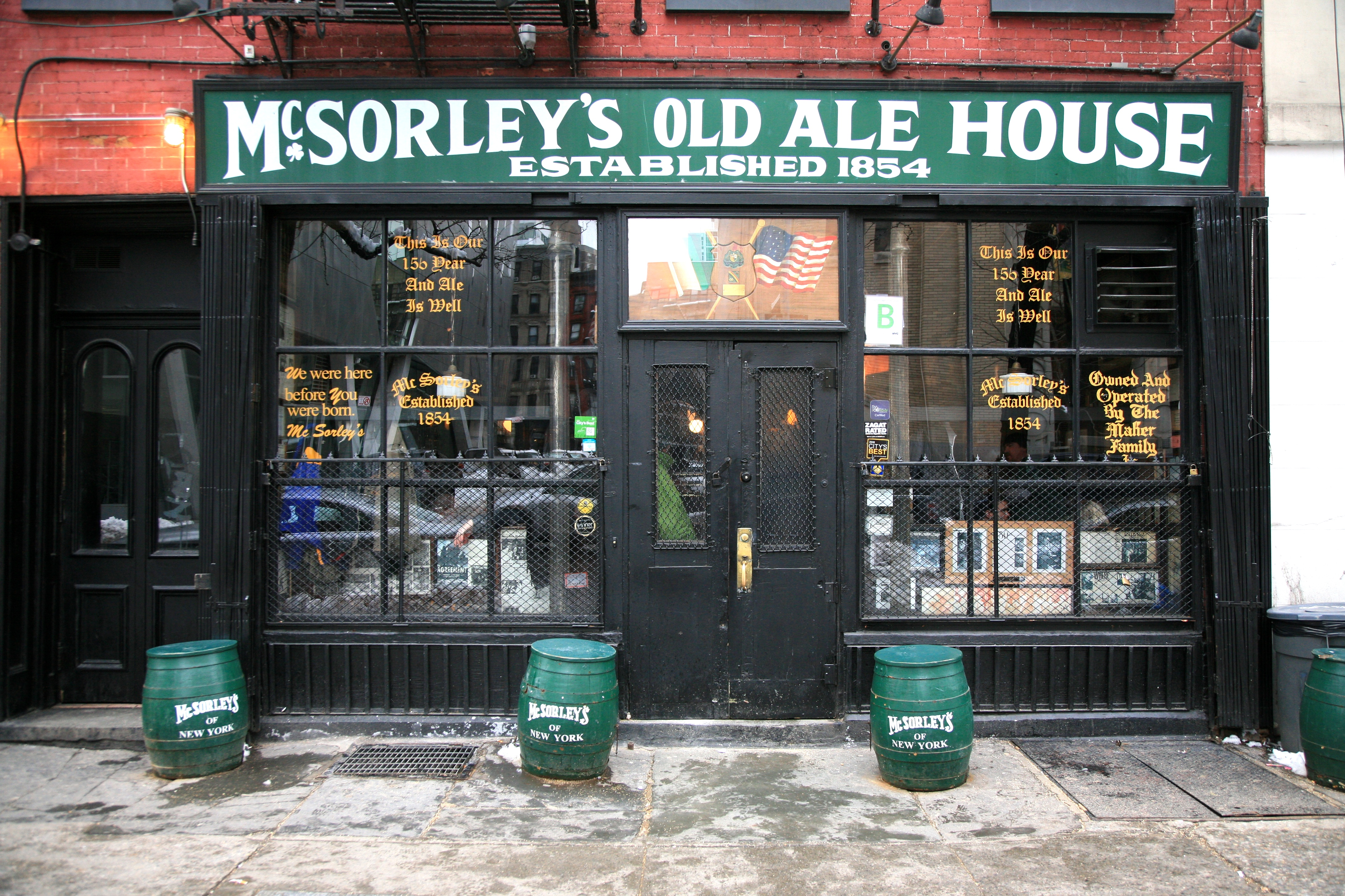 McSorleys New York
